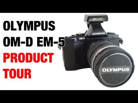 Olympus OM-D EM-5 Product & Menu Tour