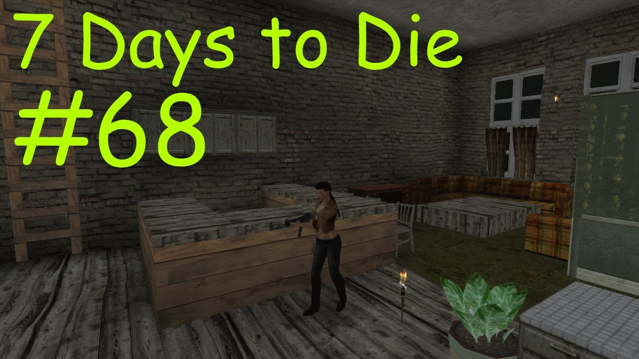 7 days to die 68 endless zombie invasion youtube for Door 7 days to die