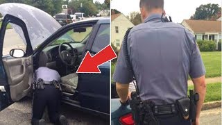 Officer Tells Woman To Open Trunk Because Lights Are Out Doesn't Realize She's Recording His Actions