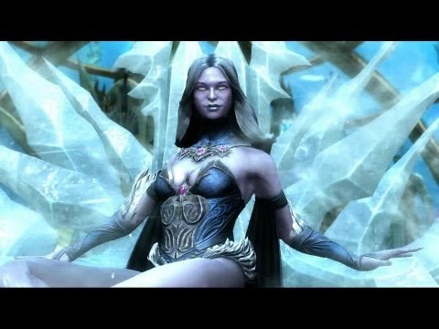 Killer Frost & Ares - Injustice: Gods Among Us Gameplay Trailer