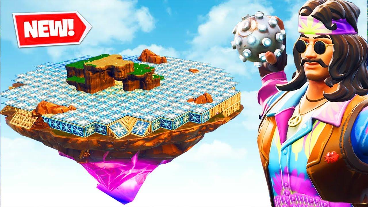 ICY ISLAND TRAPBALL Custom Gamemode - Fortnite Battle Royale