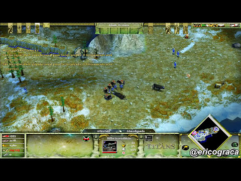 Age of Mythology - The Titans - Campanha Titans (Level 01) - Ep.30