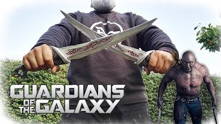 Drax´s Daggers From Aluminum License Plates (Guardians of the Galaxy)