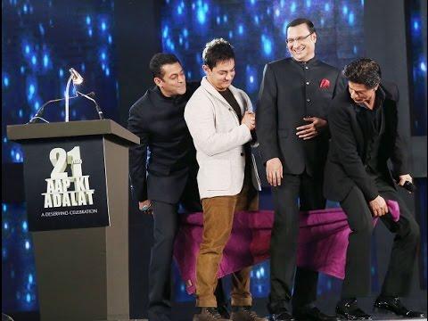 Aap Ki Adalat: Shah Rukh Khan, Salman Khan and Aamir Khan's special gifts to Rajat Sharma- review