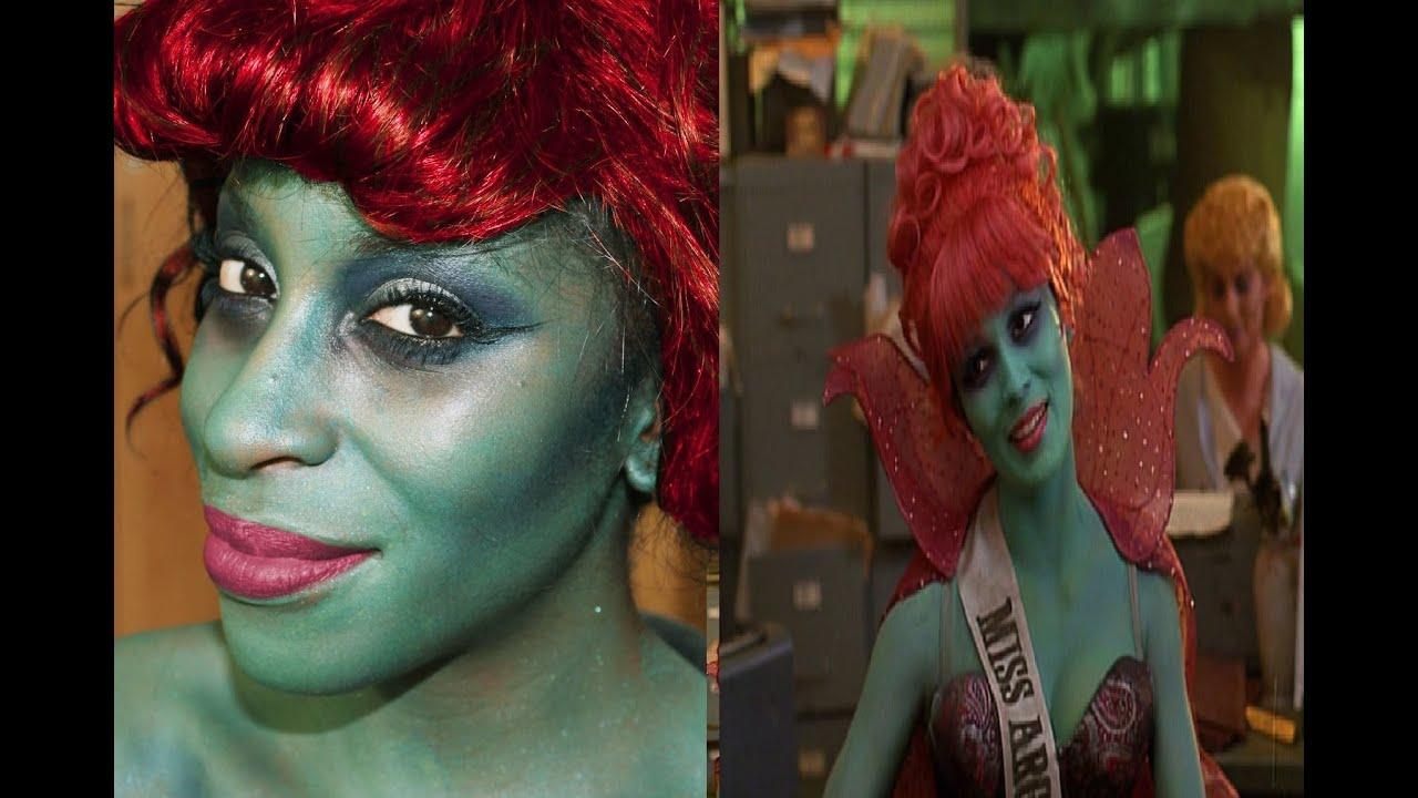 Halloween Makeup Miss Argentina Beetlejuice YouTube
