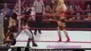 Maryse vs Melina (champion vs champion match)