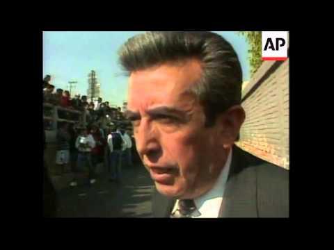 MEXICO: ZAPATISTA DEMONSTRATORS OCCUPY 2 RADIO STATIONS