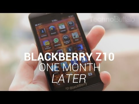 BlackBerry Z10 - One Month Later