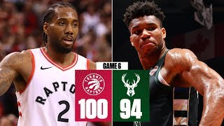 Kawhi leads the Raptors to 1st NBA Finals appearance in win vs. Bucks | 2019 NBA Playoff Highlights