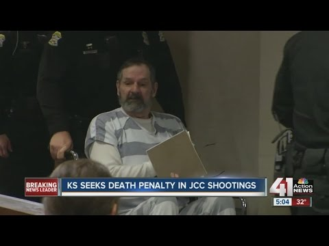 Kansas seeks death penalty for suspect in Jewish community center shooting deaths