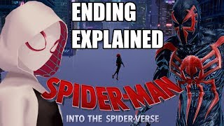 Spider-Man Into The Spider-Verse Post Credit Scene & Ending Explained