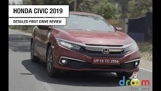 Honda Civic Detailed First Drive Review | Droom Discovery