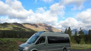 Why a Class B RV May Be The Best Way to See Yellowstone National Park