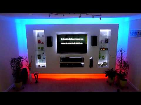 led tv wand selber bauen diy reviews. Black Bedroom Furniture Sets. Home Design Ideas