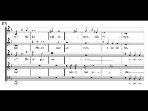 Монтеверди Клаудио - Non più guerra, pietate