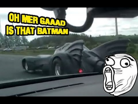 real life batmobile replica kit car driving youtube. Black Bedroom Furniture Sets. Home Design Ideas