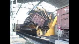Best Video for Wagon tippler  (Automatic wagon unloading operation)