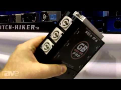 InfoComm 2013: Gear Box Pro Releases the PCD 338