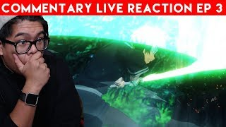 THIS IS HAPPENING | Sword Art Online Alicization Episode 3 Commentary Live Reaction