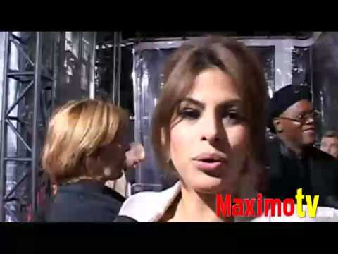 Eva Mendes Interview at