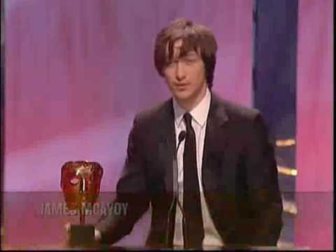 James McAvoy Wins The Rising Star Award 2006