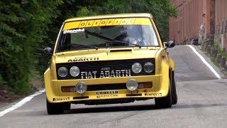 FIAT 131 Abarth - Hillclimb race, pure sound & on board