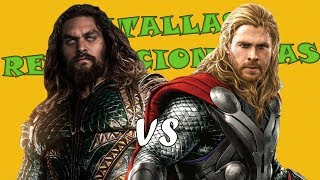 Thor VS Aquaman  l Batallas Revolucionarias Rap l Temporada Final