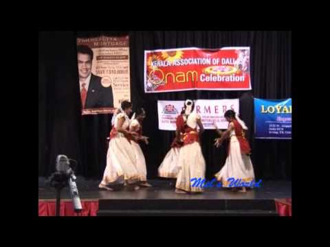 Kerala Association - Onam 2011 - Group Dance video