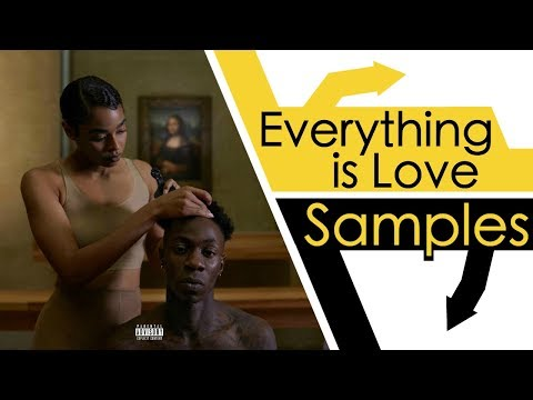Every Sample From The Carters Everything is Love