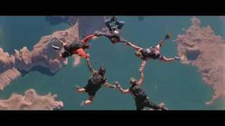 Point Break Skydiving scene