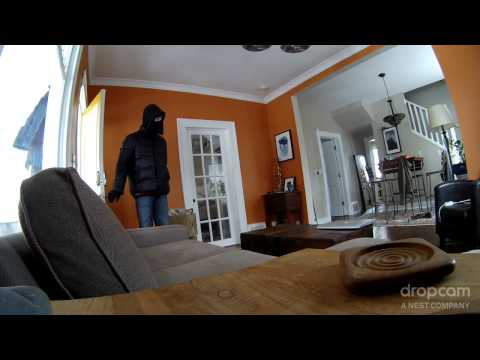 South Minneapolis Home Break-In - caught on drop cam