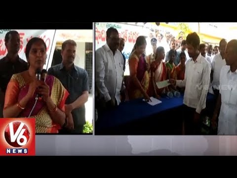 Deputy Speaker Padma Devender Reddy Fires On Opposition Over Kaleshwaram Project | V6 News