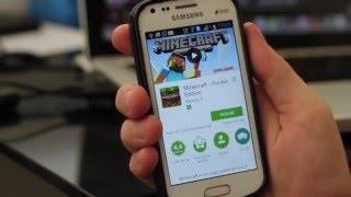 Como baixar Minecraft para Android usando a Play Store