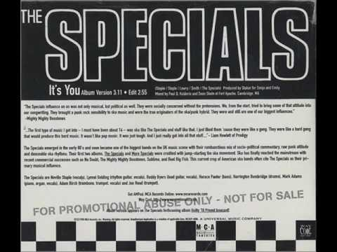THE SPECIALS - IT&#039;S YOU