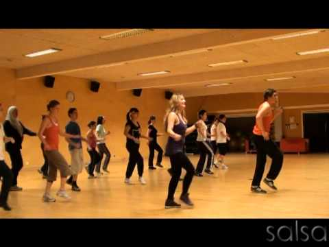 Latin Flame, Latin Dance Aerobics, Salsa in Stockholm, Sweden