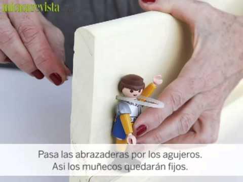 Perchero para el dormitorio infantil manualidades youtube - Perchero pared infantil ...