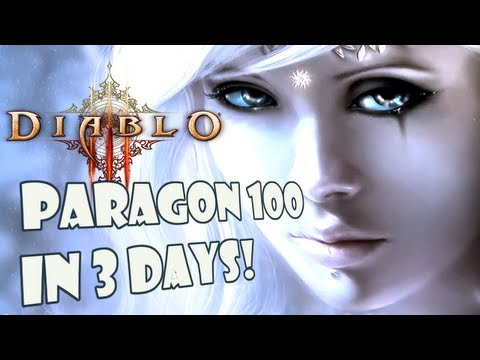 How to Paragon to 100 in 3 days! - 150mil xp/hour! 1.0.7 Diablo 3