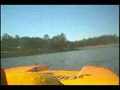 Rc gas Boat racing