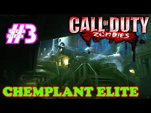 ANOTHER OF MY FAVORITE CUSTOM ZOMBIES MAPS!▐ Custom Zombies on Chemplant Elite