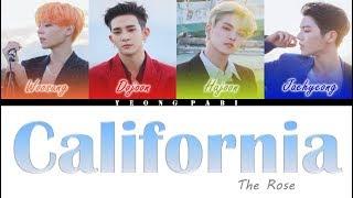 The Rose (더 로즈) - California (Legendado) - (Color Coded Lyrics ENG   PT-BR)