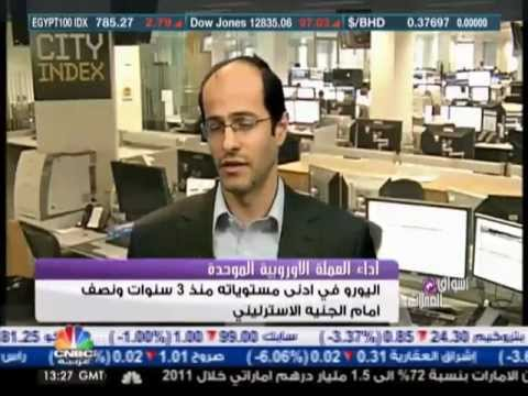 Ashraf Laidi on CNBC Arabia (Greece, Spain & Techs), May 10, 2012 Chart