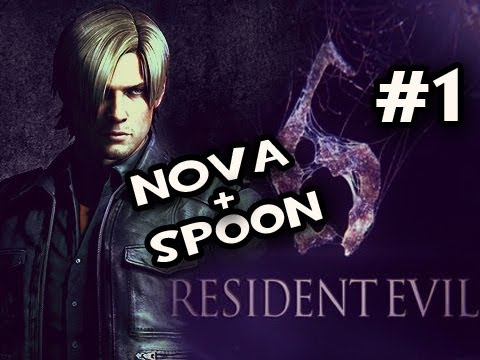 Resident Evil 6: The Prelude w/Nova & Sp00n Co-op Ep.1: NO CO-OP FOR YOU