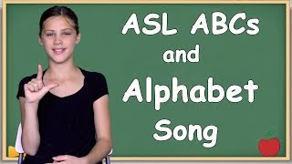 ASL Alphabet Lesson and Slow Alphabet Song