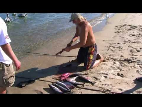 Bonito fishing - Bay of LA Mexico during the Baja Part 2