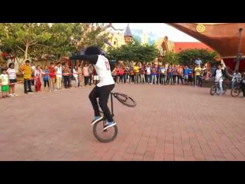 Adlabs Imagica Cycle Stunts
