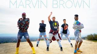 Major Lazer Run up feat Nicki Minaj PartyNextDoor Marvin Brown Choreography ordinarybrown