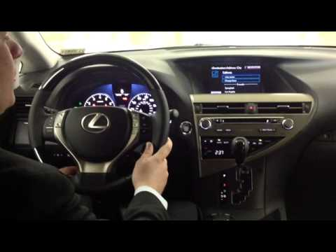 Lexus Voice Technology