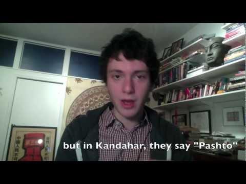 Tim Speaks Pashto ټیم په پښتو خبری کوی video