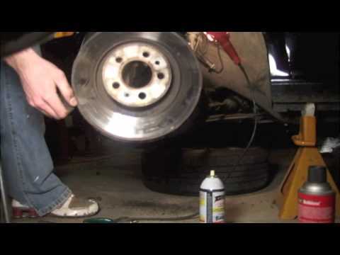 How to remove brakes & rotors on a VW Jetta