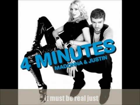 Download Lagu Madonna - 4 Minutes ft. Justin Timberlake (Extended Audio Version) MP3 Free